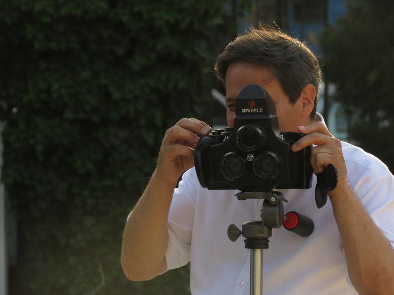 کارگاه عکاسی سه بعدی