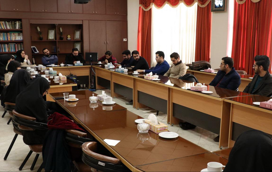 آخرین جلسه شورای مسئولین دفاتر